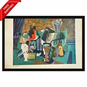 Pablo Picasso - Bottle of Black Rum, Original Hand Signed Print with COA