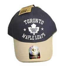 New Toronto Maple Leafs Baseball Hat Boy Toddler Velcro Back Navy