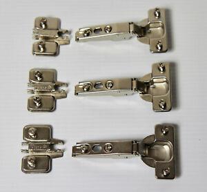3 PACK IKEA Komplement Standard Hinge Fits 50x195 Pax Wardrobe Door 957.191.00
