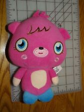 "Moshi Monsters Poppet 6.5"" Pink Plush Stuffed Character No Code"