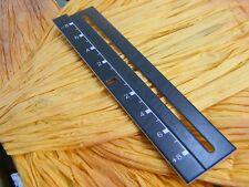 PLAQUE PITCH NOIR PLATINES TECHNICS 1200/1210 MK2,MK3,M3D,MK4,MK5,MK6,LTD / DJ