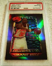 GRANT HILL 1994 TOPPS FINEST REFRACTOR PARALLEL ROOKIE #200 PSA 10 POP 4 RARE