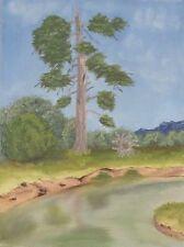 "Vintage Oil Canvas Painting 12"" x 16"""