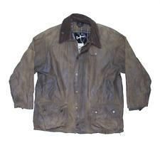 Vintage BARBOUR Beaufort Classic Green Regular Outdoor Jacket Mens L