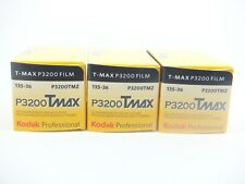 3 x KODAK TMAX P3200 35mm 36 Exp CHEAP B & W FILM By 1st CLASS ROYAL MAIL