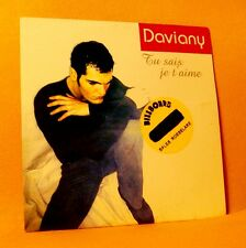 Cardsleeve single CD BELPOP Daviany Tu Sais Je T'Aime 2 TR 2003 Disco Pop