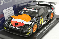 FLY 88265 REPSOL LISTER STORM JAGUAR CTO ESPANA GT NEW 1/32 SLOT CAR IN DISPLAY