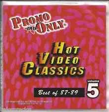 Promo only video classics: Best of 1987-1989 vol.5 DVD Starship ERIC CARMEN u2