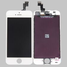 White LCD Display+Touch Screen Digitizer Assembly Replacement for iPhone 5S