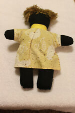 Free shipping! Black Old fashioned rag doll - New