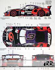 1/24 NISSAN Z #3 KANEISHI GOMAS HASEMI SPORT JGTC 2005 DECAL for TAMIYA