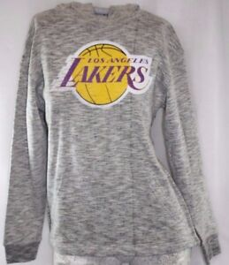 NEW Youth Kids MAJESTIC Los Angeles LA Lakers Pullover NBA Hoodie Sweatshirt