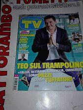 Tv Sorrisi e Canzoni N.20 con Teo Mammuccari anno 2013- Mondadori Ottimo