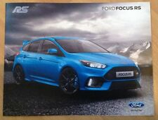 FORD FOCUS RS BROCHURE July 2015 / 2016 Model Year