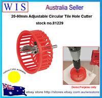 20-90mm Adjustable Circle Tile Cutter,Hole Cutter for Ceramic Tile-81229