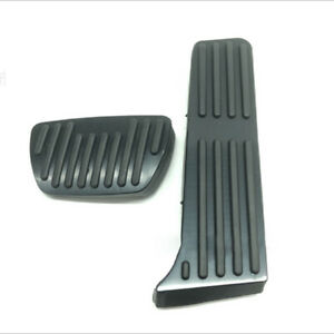 Black No Drilling Gas Pedal Brake Cover Trim Accessorie For Toyota Camry 2018-21