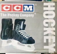 CCM Black Storm Junior - Youth Ice Hockey Skates SL-1000 Blades Size 6
