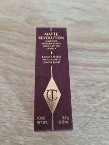 Charlotte Tilbury Matte Revolution Lipstick Gracefully Pink 3.5g New Genuine
