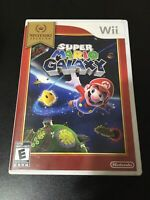 Super Mario Galaxy (Nintendo Wii, 2007) Complete & Tested + Free Shipping!!!