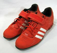 Adidas Adipower Weightlifting Shoes Size 16 Red Lace Red Sports Trainers V24382