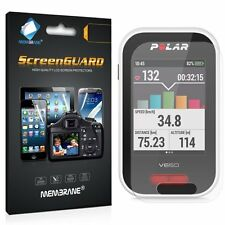 3 Membrane Polar V650 GPS Bycicle activity tracker Screen Protector Cover Guard