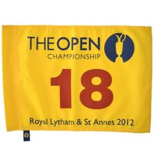 2012 OFFICIAL (Royal Lytham and St. Annes) BRITISH OPEN Golf FLAG