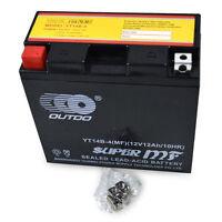 YT14B-BS YT14B-4 Battery fo Hyosung Yamaha V Road Warrior Roadliner Stratoliner