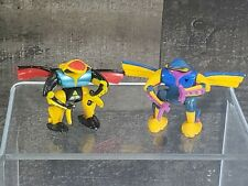Vintage Action Figures LGTI 1992 Mini Robots Zbots Micro Machine (Lot of 2)