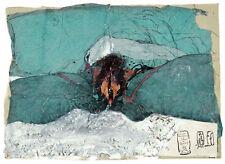 Horst Janssen Leda und der Schwan Poster Plakat Kunstdruck Bild 46 x 59 cm
