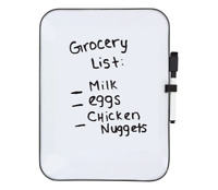 Personal Dry Erase Board 11x8 WITH MARKER Great for student kitchen school kids
