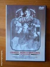 DVD CHARLOT, MUSICO AMBULANTE - CHAPLIN - EL CONDE... (T5)