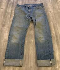 Vintage Reproduction 70s Double X Levis Denim Jeans Selvedge Size 36x33 LVC
