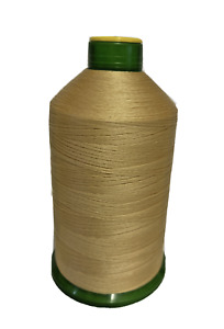 STRONG BONDED NYLON THREAD 60'S, 4500MTR FREE P&P LIGHT GOLD  COL138