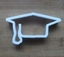 Graduation Hat Mortarboard Cookie Cutter Biscuit Pastry Fondant Stencil FS11
