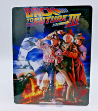 BACK TO THE FUTURE 3 - Glossy Bluray Steelbook Magnet Cover (NOT LENTICULAR)