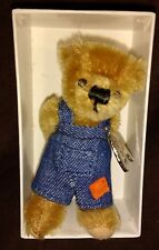 "MERRYTHOUGHT 3"" MASTER MISCHIEF MOHAIR TEDDY BEAR 101 OF 250 - NEW IN BOX"