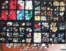 Vintage Estate Lot Sewing Buttons