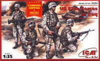 ICM 35201-1/35 American Soldiers US elite forces in Iraq, plastic model kit