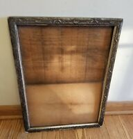 "19/20TH. CENTURY ANTIQUE VICTORIAN WOODEN GESSO FRAME HOLDS 20"" x 14.5"" PICTURE"