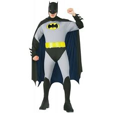 Costume DA BATMAN GOTHAM per gli uomini-Small-Batman Fancy Dress Up Party Halloween