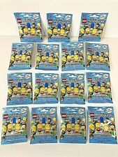 Lego The Simpsons 71005 Minifigure Blind Mystery Pack LOT OF 15 SEALED 😃