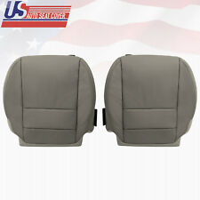 2007 2013 Acura MDX Front Driver Passenger Bottom Leather Seat Cover GRAY COLOR