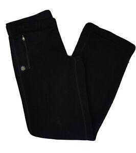 Athleta Women's Polartec Power Stretch Pant Fleece Lined Black Size Medium