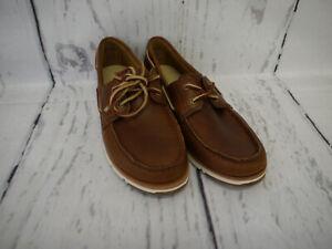 Timberland Damen Schuhe Bootsschuhe Camden Falls FG Boat Braun Leder Gr. 38 Neu