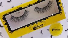Eldora False Eyelashes M103 Multi-Layered Human Hair Strip Lashes