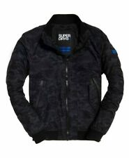 Superdry Mens Microfibre Solstice Jacket Low Light Camo Size XL