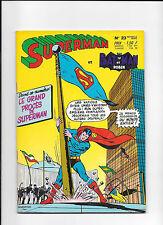 4ème trimestre 1970  SUPERMAN BATMAN 23  comme NEUF