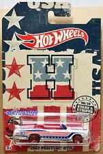 HOT WHEELS 2018 STARS & STRIPES 1967 PONTIAC GTO