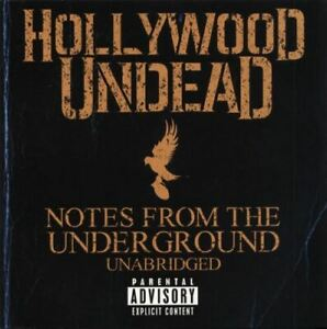 HOLLYWOOD UNDEAD notes from the underground (unabridged) (CD, album) hip-hop,