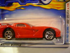 Hot Wheels Dodge Viper GTS-R #023 2001 First Editions Red
